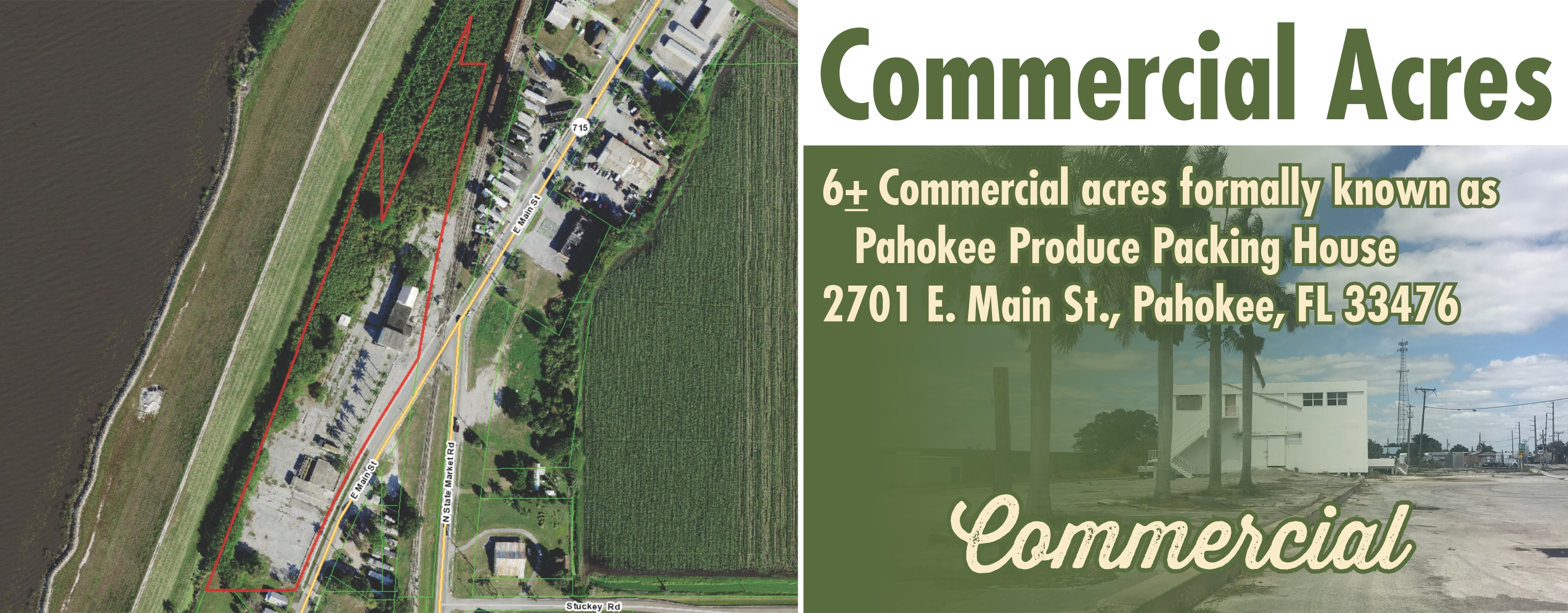 Commercial Acres - Pahokee FL header