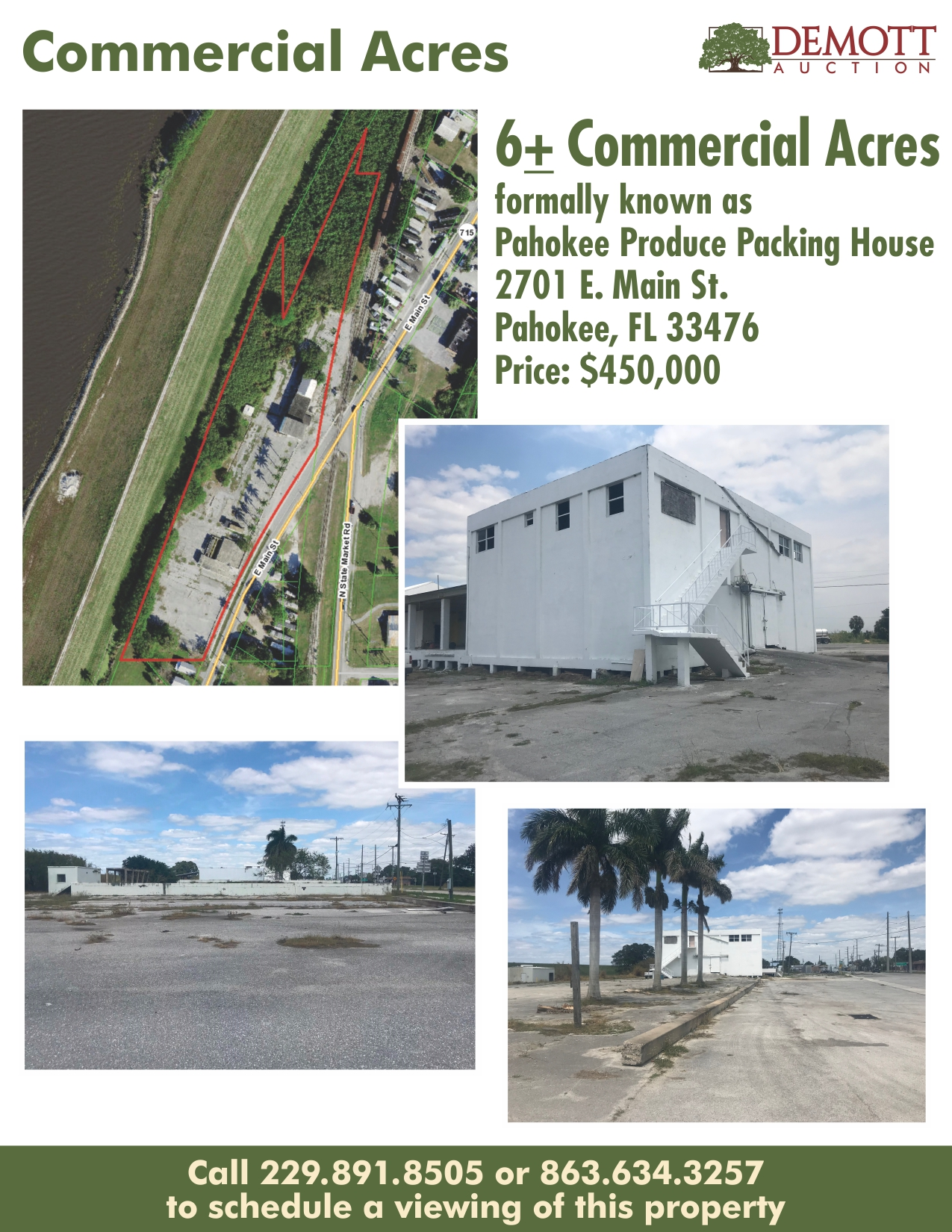 Commercial Acres Info