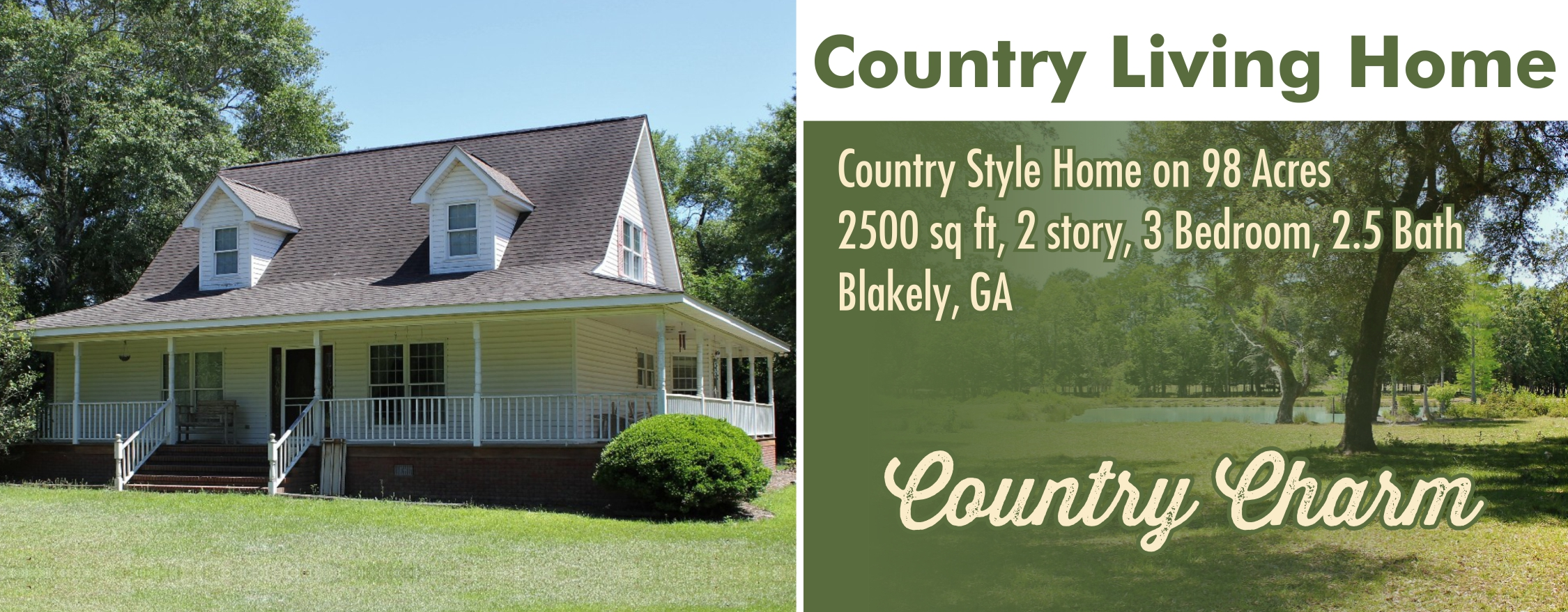 98 Acre Country Living
