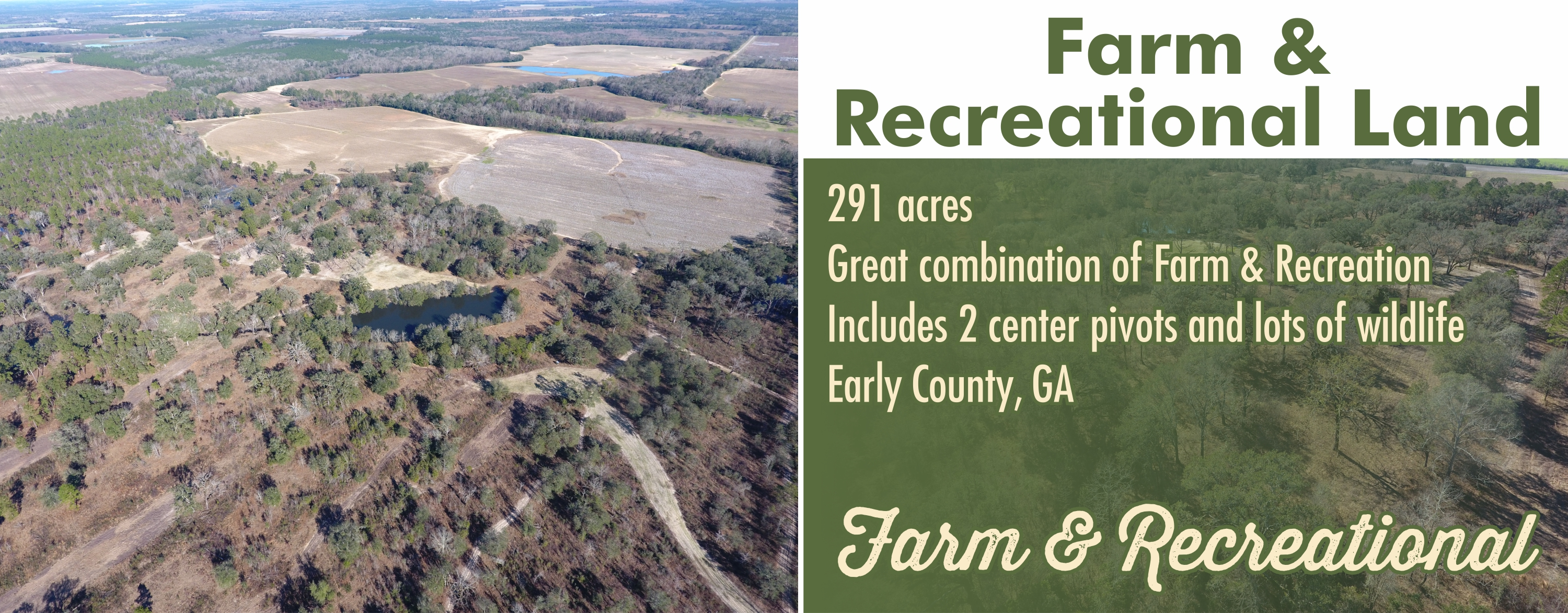 Farm & Recreational Land