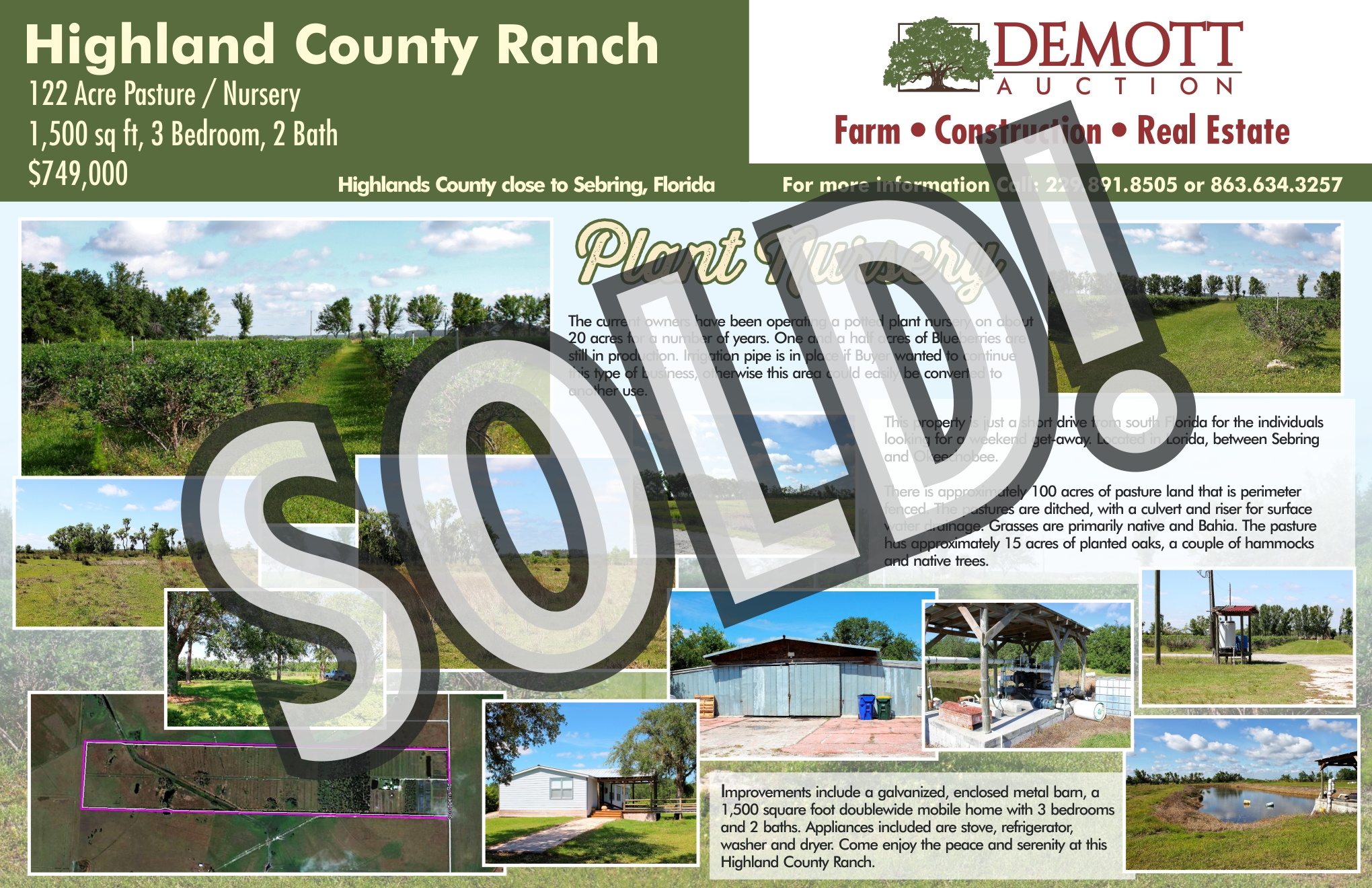 Highland Co Ranch - SOLD