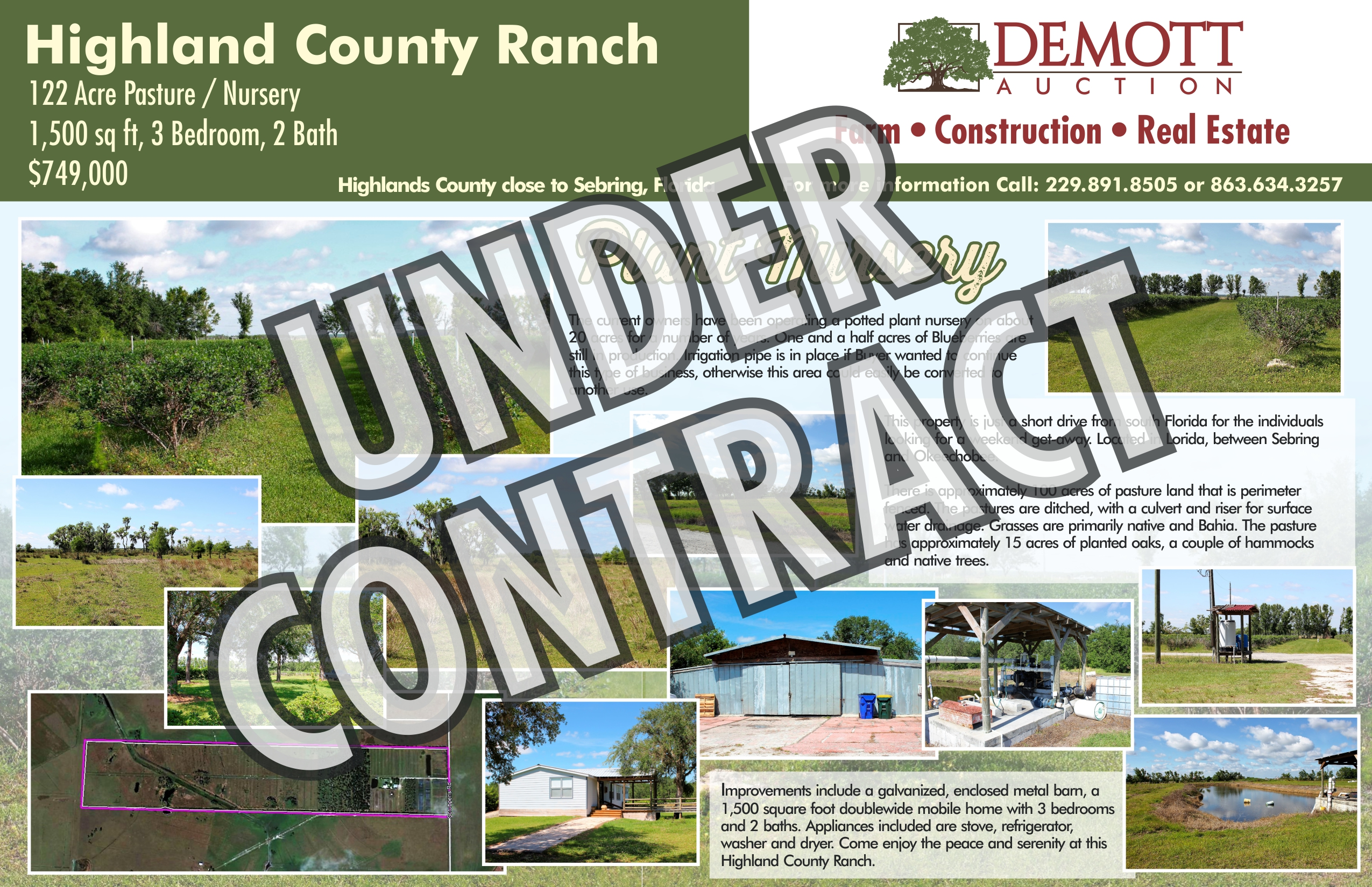 Highland Co Ranch - Under Contract