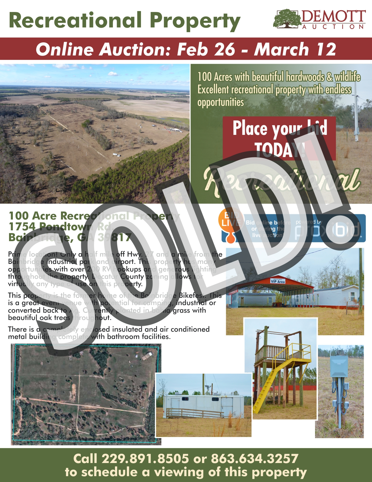 Recreational Property - SOLD